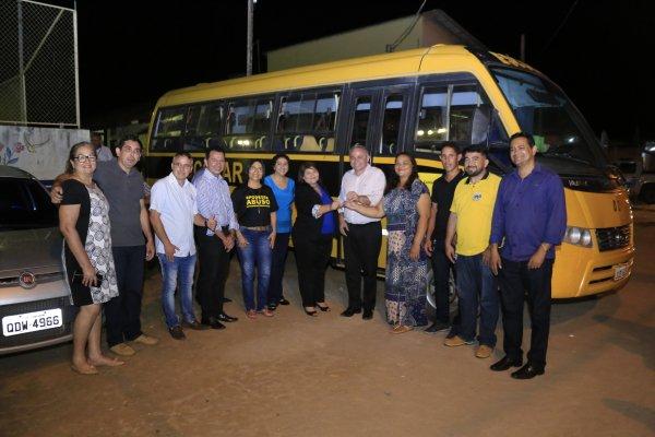 Comunidade Tabocal recebe reforço para o transporte escolar