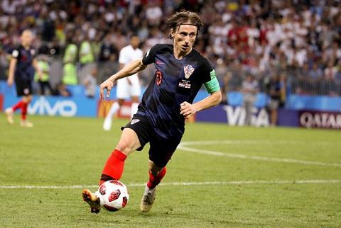 Luka Modric là cầu thủ chủ chốt của Croatia
