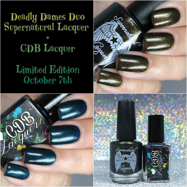 CDB Lacquer & Supernatural Lacquer - Deadly Dames Duo
