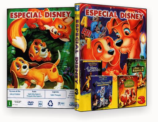 Coleção – Especial Disney – 4 em 1 – ISO