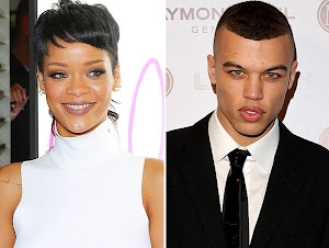 Rihanna reunited with Dudley O'Shaughnessy ?