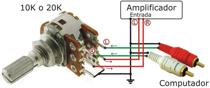, Circuito de amplificador de potência com tda2050 para 32 watts