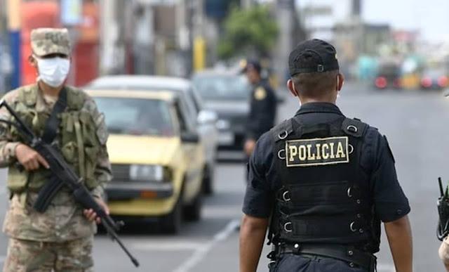 Cuarentena - Toque de queda Abril Perú