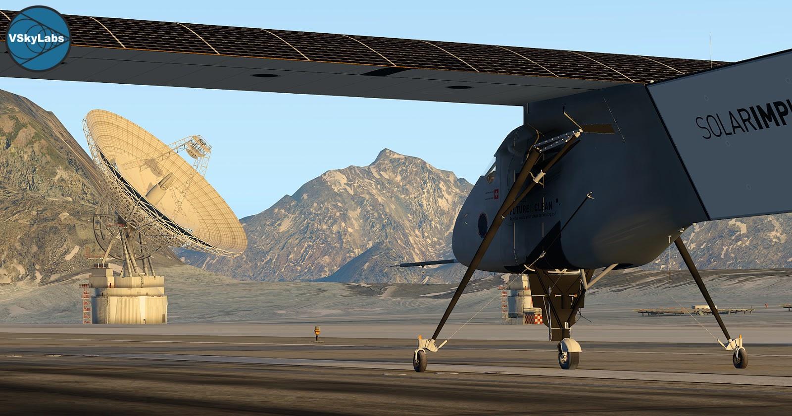 COMING SOON! VSKYLABS Solar Impulse 2
