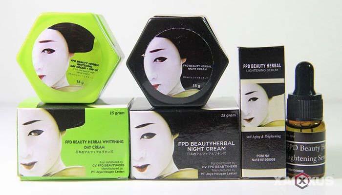 Cream pemutih wajah yang aman dan bagus - FPD Beauty Herbal Whitening