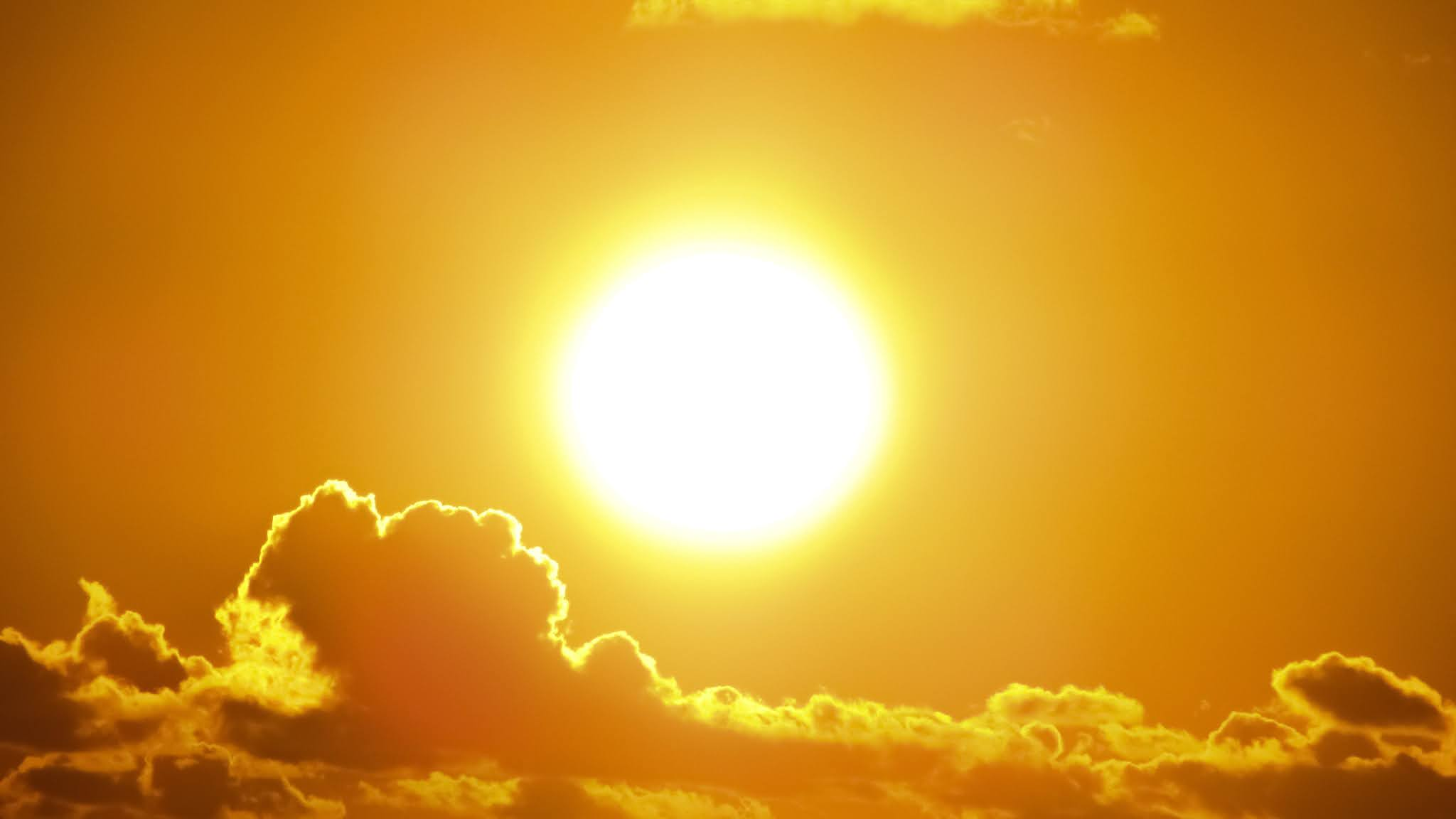 keadaan matahari ketika kiamat