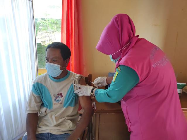 Ini Cakupan Vaksinasi Covid-19 di Sinjai Utara