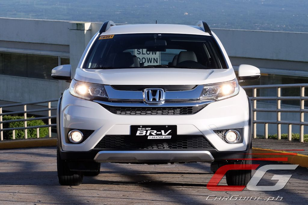 First Drive 2017 Honda BR V 15 V Navi Philippine Car