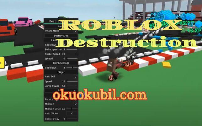 Roblox Güncel Destruction Script Simulator Level ve Farm Hileli 2020