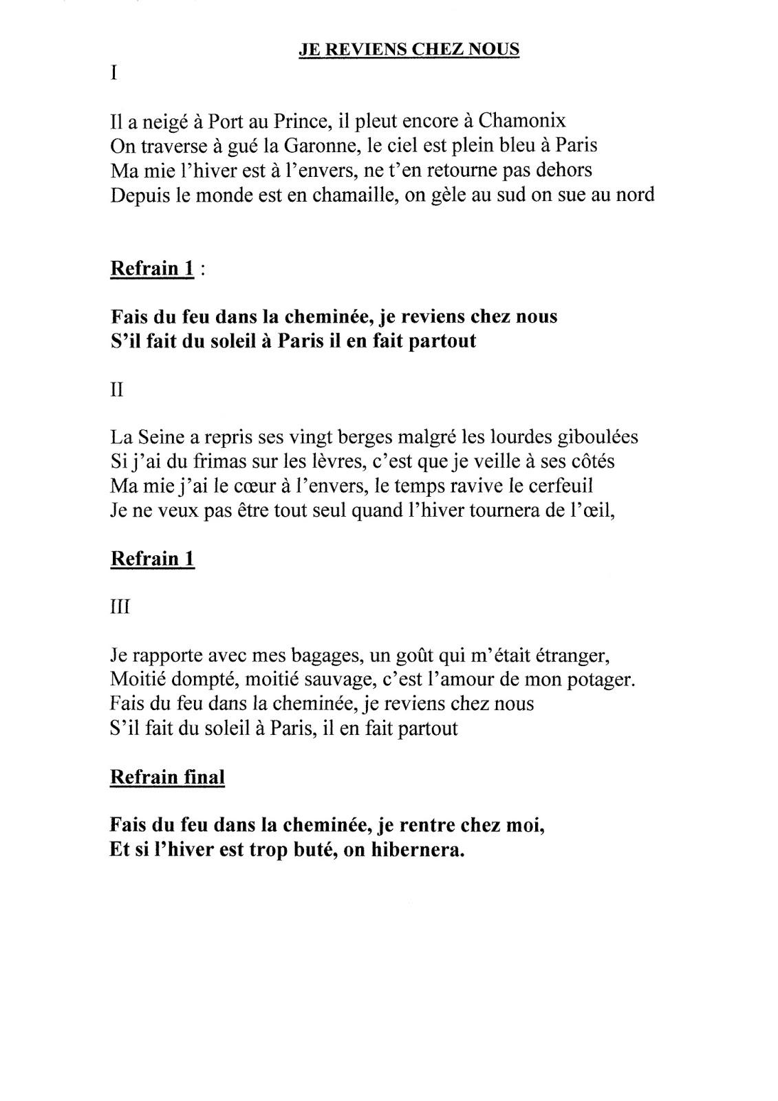 Les Fêtes De Mauléon Paroles : fêtes, mauléon, paroles, Chorale, Rayon, Soleil:, Paroles, Chansons