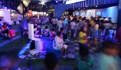 Suasana Booth DANA di PRJ