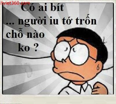 Những hình ảnh hài hước vui nhộn nhất, nobita chế hài độc thân