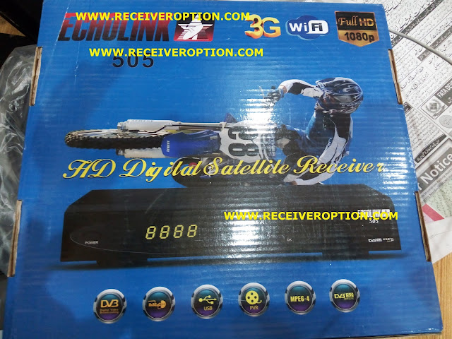 ECHOLINK 505 HD RECEIVER POWERVU KEY NEW SOFTWARE