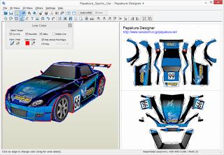 تحميل برنامج قوي و سهل الاستخدام لإنشاء أنماط ثنائية الأبعاد Pepakura Designer 4.1.6