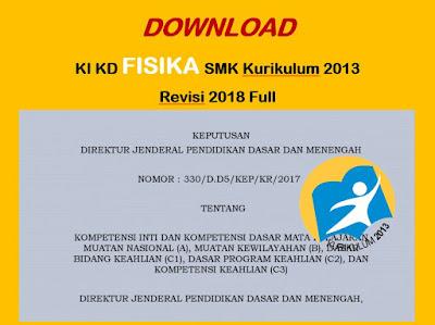 KI KD Fisika SMK Kurikulum 2013 Revisi (BARU)
