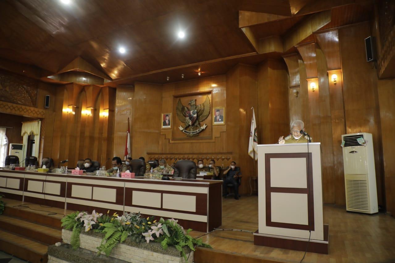 Bupati Asahan Sampaikan Rancangan Awal RPJMD Kabupaten Asahan Tahun 2021-2026