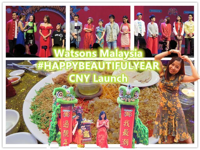 Watsons #HAPPYBEAUTIFULYEAR CNY Launch