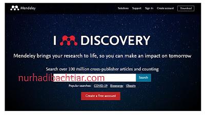 Cara Menggunakan Mendeley Dan Menghubungkan Ke Ms Word Nurhadi Bachtiar