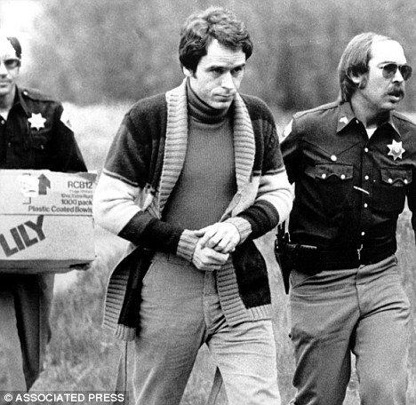 ted bundy ditangkap
