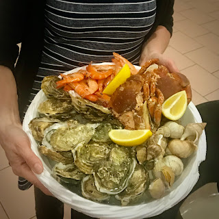 French Village Lockdown Diaries day forty-two France Trivia Advent day ten moules huîtres