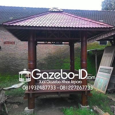Gazebo Kayu Glugu