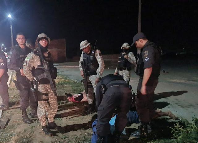 Polícia Militar prende casal suspeito pela tentativa de assalto que deixou policial penal baleado em Pipa