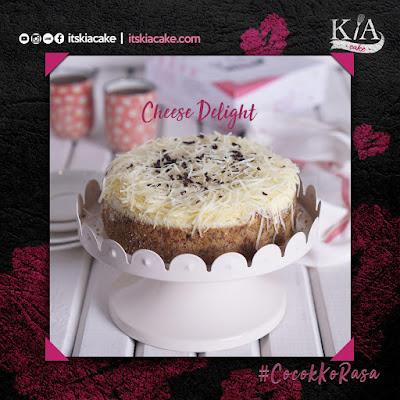 kia cake varian cheese delight