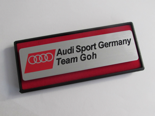 Emblem Audi Sport Germany Team Goh