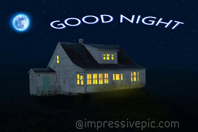 Happy home good night image for WhatsApp status