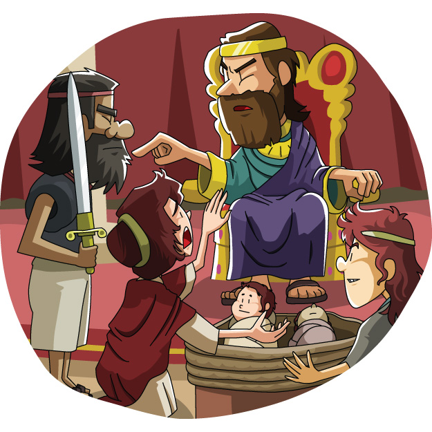 Today's Christian Clipart: Solomon's Wise Judgment