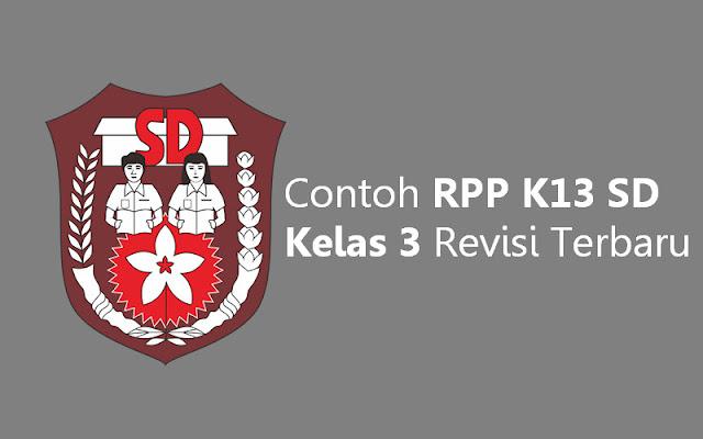 Contoh RPP K13 SD Kelas 3