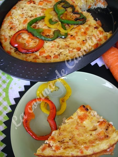 Zanahorias con queso cremoso al horno (La cocina de Camilni)