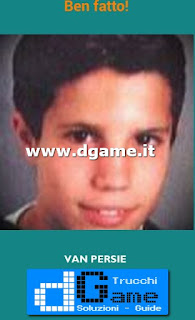 Soluzioni Guess the child footballer livello 13