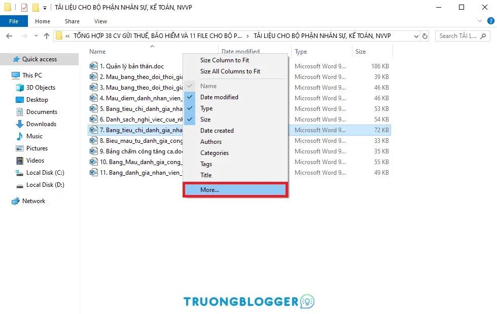 Cách xem nhanh tổng số trang của file Word