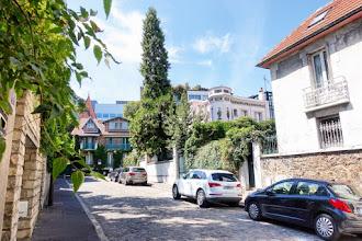 Paris : Les coquettes ruelles de la rue Nansouty, villas et impasses du quartier du Parc Montsouris - XIVème