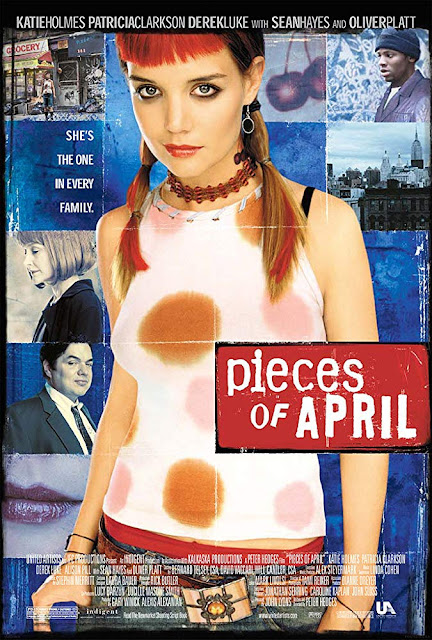 Pieces of April 2003 movie poster Katie Holmes Patricia Clarkson Oliver Platt