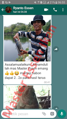 Paket Umpan Khusus Ikan Nila
