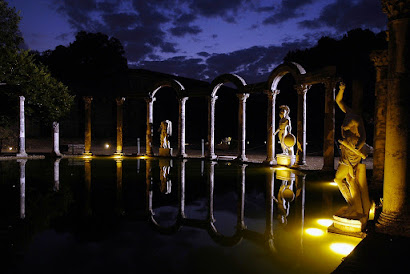 Tramonto a Villa Adriana a Tivoli - Visita guidata