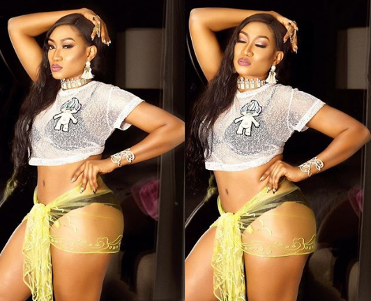 Oge Okoye flaunts sexy curves in lingerie