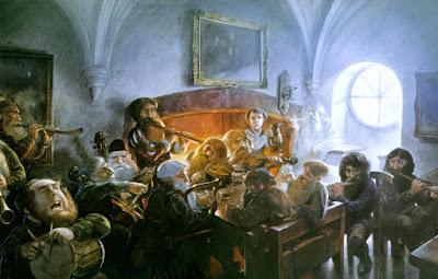 Εικονογράφηση για το Χόμπιτ του Τόλκιν από τον John Howe
