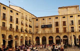 Plaza de Dins, Alcoy, provincia de Alicante.