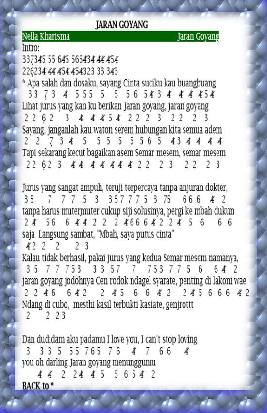 Not pianika jaran goyang nella kharisma not pianika lagu not pianika jaran goyang nella kharisma stopboris Image collections