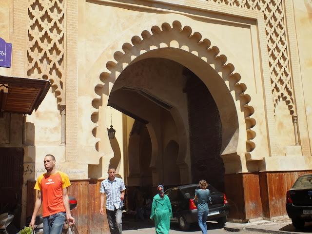 Puerta de entrada a la medina