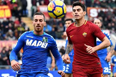 مشاهدة مباراة روما وساسولو
