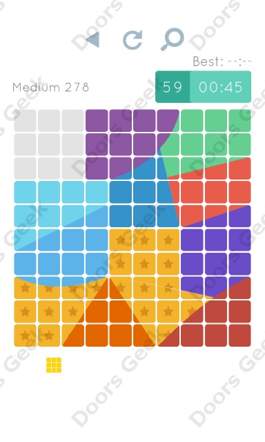 Cheats, Walkthrough for Blocks and Shapes Medium Level 278