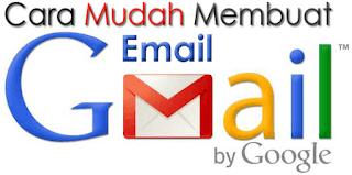 Langkah demi langkah cara Membuat Email di Gmail sebagai akun Google