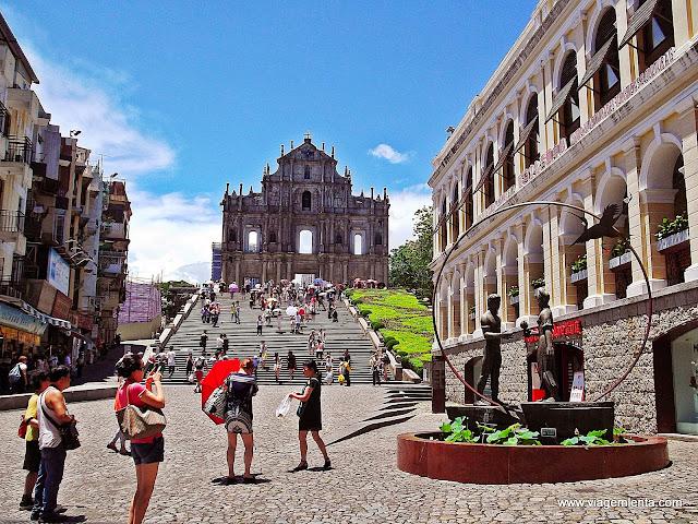 Ruínas da Igreja de São Paulo, Macau