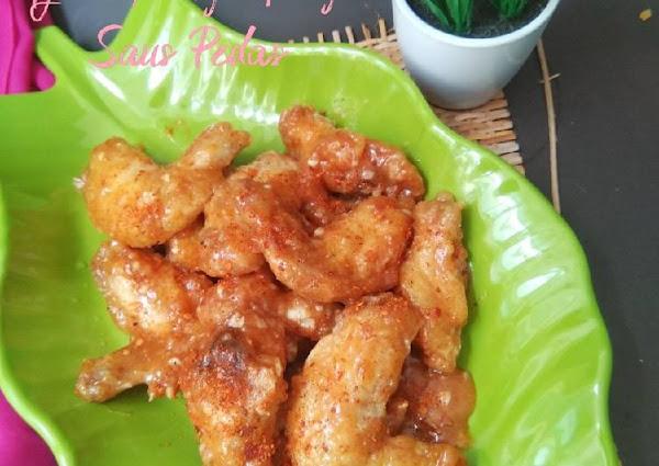 Ayam Goreng Tepung Saus Pedas