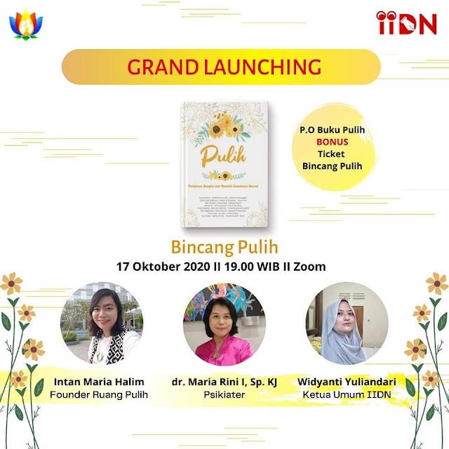 Grand Launching Antologi Pulih