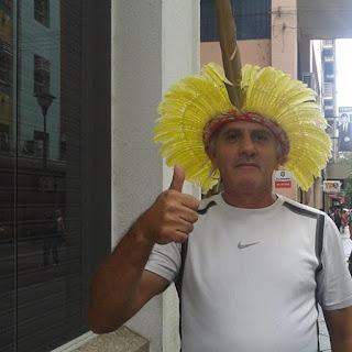 Charles Netto na Esquina Democrática em Porto Alegre, RS/BR.